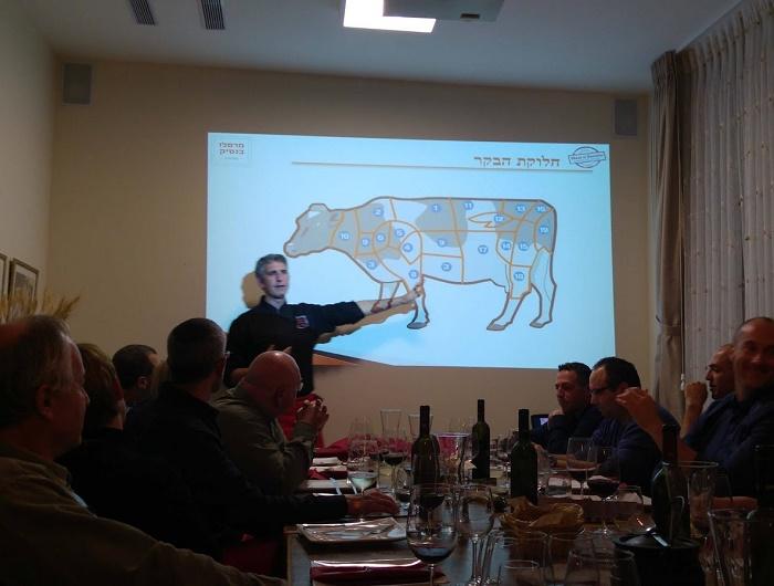 סדנת הבשר ביקב ויתקין Vitkin Winery